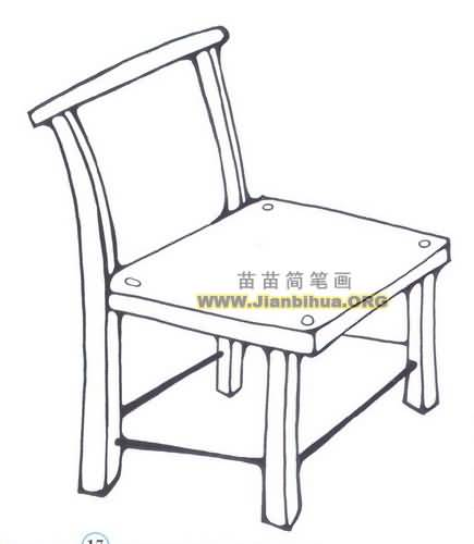 椅子简笔画图片大全