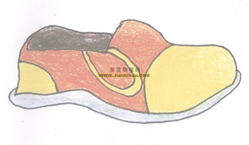 鞋简笔画图片