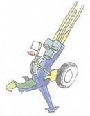 高射炮简笔画图片教程
