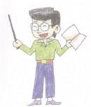 教师简笔画图片教程