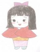 日本卡通人物小叶子简笔画图片教程