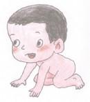 婴儿简笔画图片教程