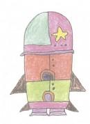 火箭简笔画图片教程二
