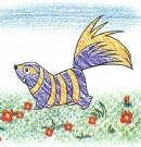 斑臭鼬简笔画图片教程