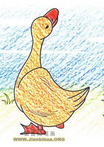 幼儿园简笔画动物展示_琴棋书画
