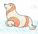 海豹简笔画图片教程