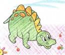 恐龙简笔画图片教程