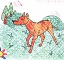 猎狗简笔画图片教程