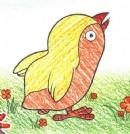 如何画小鸡简笔画图片教程