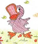 鸭子简笔画画法图解