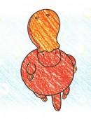 鸭嘴兽简笔画图片教程