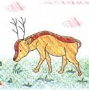 长角羚简笔画图片教程