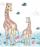 长颈鹿简笔画画法图解