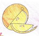 橙子简笔画图片教程