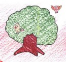 榕树简笔画图片教程
