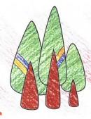 树木简笔画图片教程