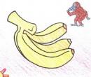 香蕉简笔画画法图解