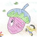 卡通小茄子简笔画图片教程