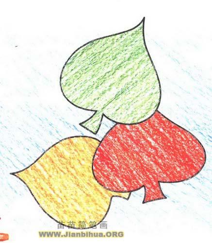 如何画叶子简笔画图片教程