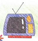 如何画电视简笔画图片教程