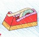 胶带座简笔画图片教程