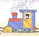 火车头简笔画图片教程