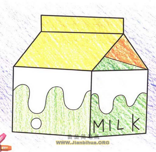 大海简笔画图片 儿童画大海  画浪花的简笔画画法图片展示_画浪花的简