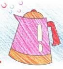 电热壶简笔画图片教程
