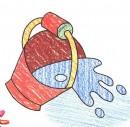 如何画水桶简笔画图片教程