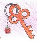 钥匙简笔画图片教程