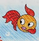 金鱼简笔画画法图解