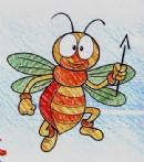 蜜蜂简笔画图片教程
