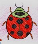 小瓢虫简笔画图片教程