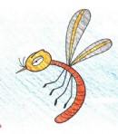 蚊子简笔画图片教程