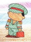 乘务员简笔画图片教程
