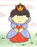 卡通公主简笔画图片教程