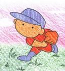 棒球投手简笔画图片教程