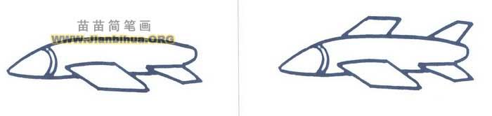 冥河导弹简笔画