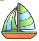 帆船简笔画图片大全(7个教程)