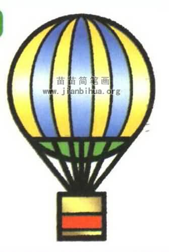 氢气球简笔画图片教程 资料
