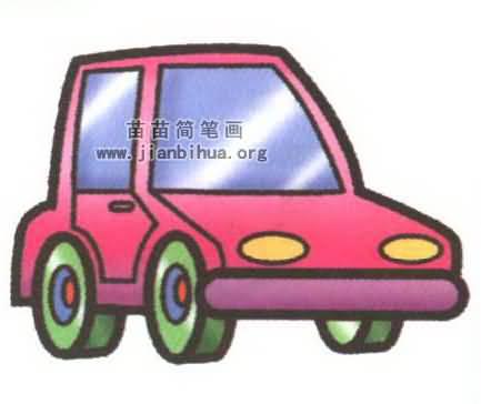 汽车简笔画