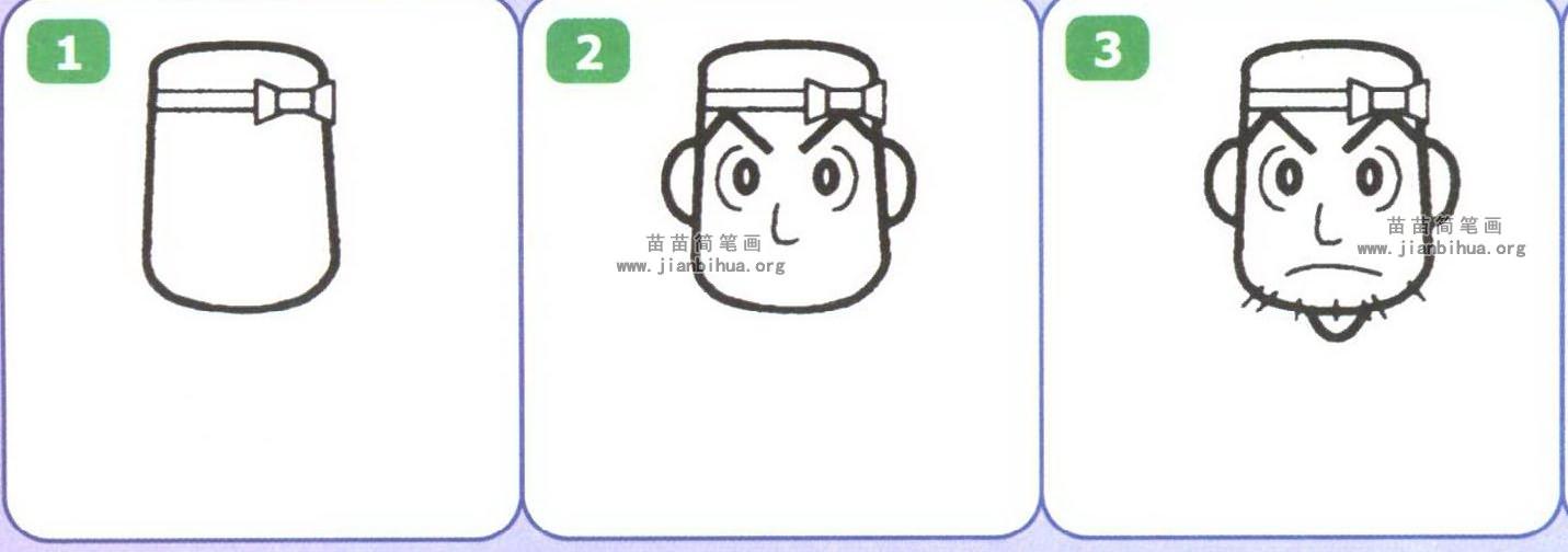 建筑工人简笔画(2个教程)