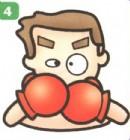 拳击运动员简笔画(2个教程)