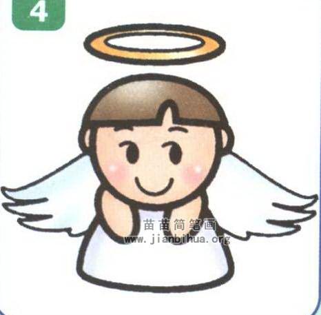 天使简笔画