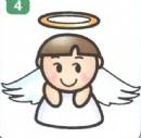 天使简笔画图片大全(3个教程)