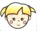 可爱小女孩头像简笔画(2个教程)