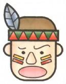 印地安人简笔画(2个教程)