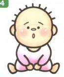 婴儿坐姿简笔画图解