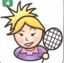 羽毛球运动员简笔画(2个教程)