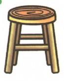 凳子简笔画(2个教程)